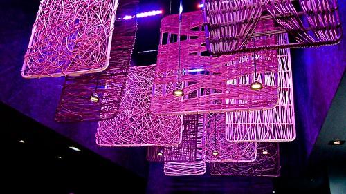 Ornamentos del techo - Restaurante Shibui Bilbao