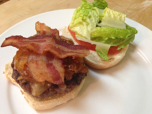 bacon gouda burger