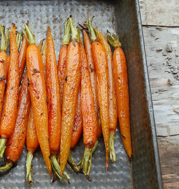 Roasted Carrots with thyme 2jpg
