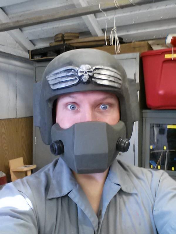 IG Helmet Front