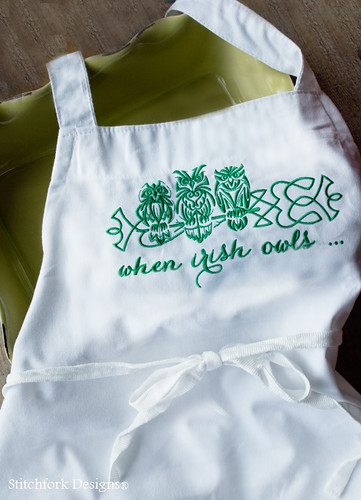 apron irish owls