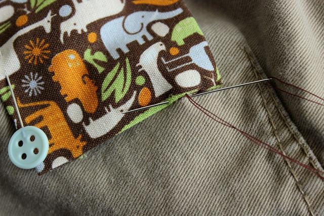 start stitching