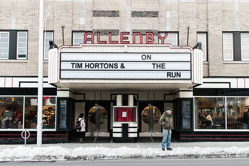 A busy repurposed landmark - The Allenby Theatre on the Danforth, circa 1936 - #63/365 by PJMixer