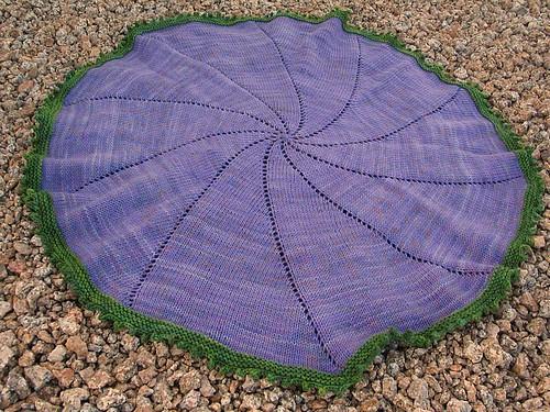 Pinwheel Baby Blanket1