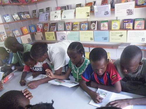 Enjoying our reading