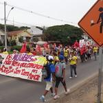 Manifestação de Mulheres Contra Remoções na Avenida Tronco