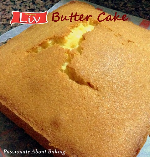 Liv butter cake liv butters cake recipe card giveaway for Cake recipe without butter
