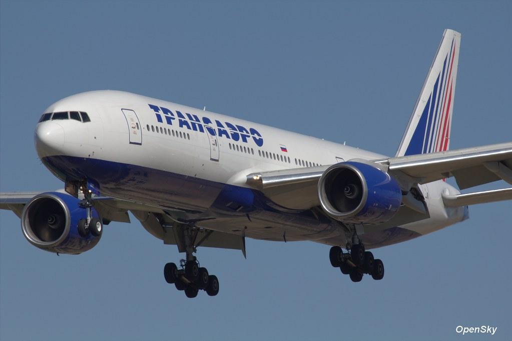 Transaero Airlines Boeing 777-212(ER) EI-UNT (cn 28999)