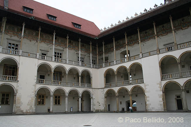 Patio de Wawel. � Paco Bellido, 2008