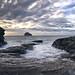 Panorama trebawith strand by Glenn 07