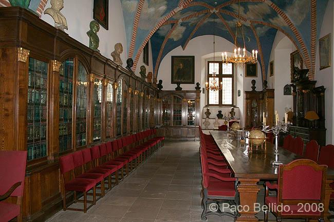 Interior del Collegium Maius. � Paco Bellido, 2008