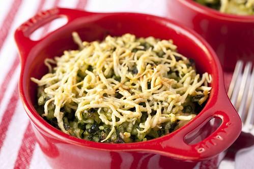 Cassoletes d'arròs i espinacs 2