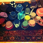Nightly progress shot of the Hat Cave - in prep for Jane Austen Fest 2013 #QuickToTheHatCave