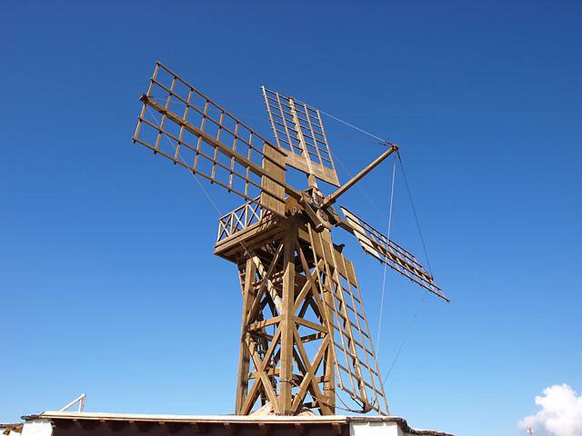 Gofio windmill, Teguise, Lanzarote