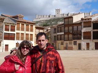 Foto en Peñafiel (Valladolid)