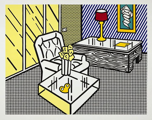 [ L ] Roy Lichtenstein - The den (1990) by Cea.