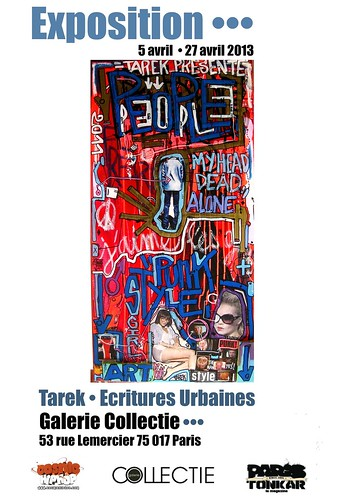 Exposition • Tarek, écritures urbaines à la galerie Collectie by Pegasus & Co