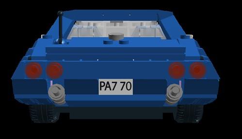 Corvette C3 rear