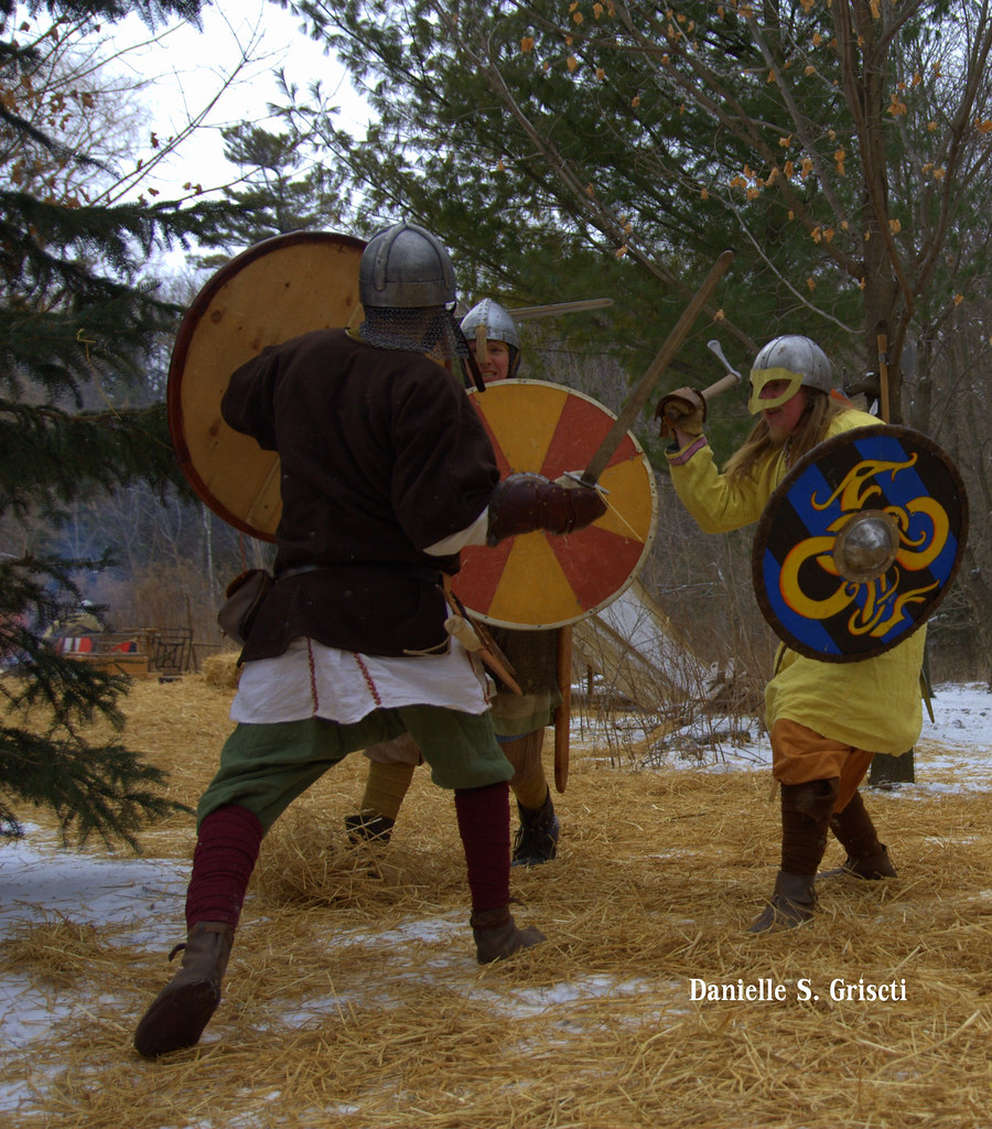 Battling Vikings