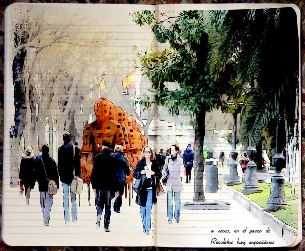 A veces, en las calles de Madrid, hay exposiciones (2010)