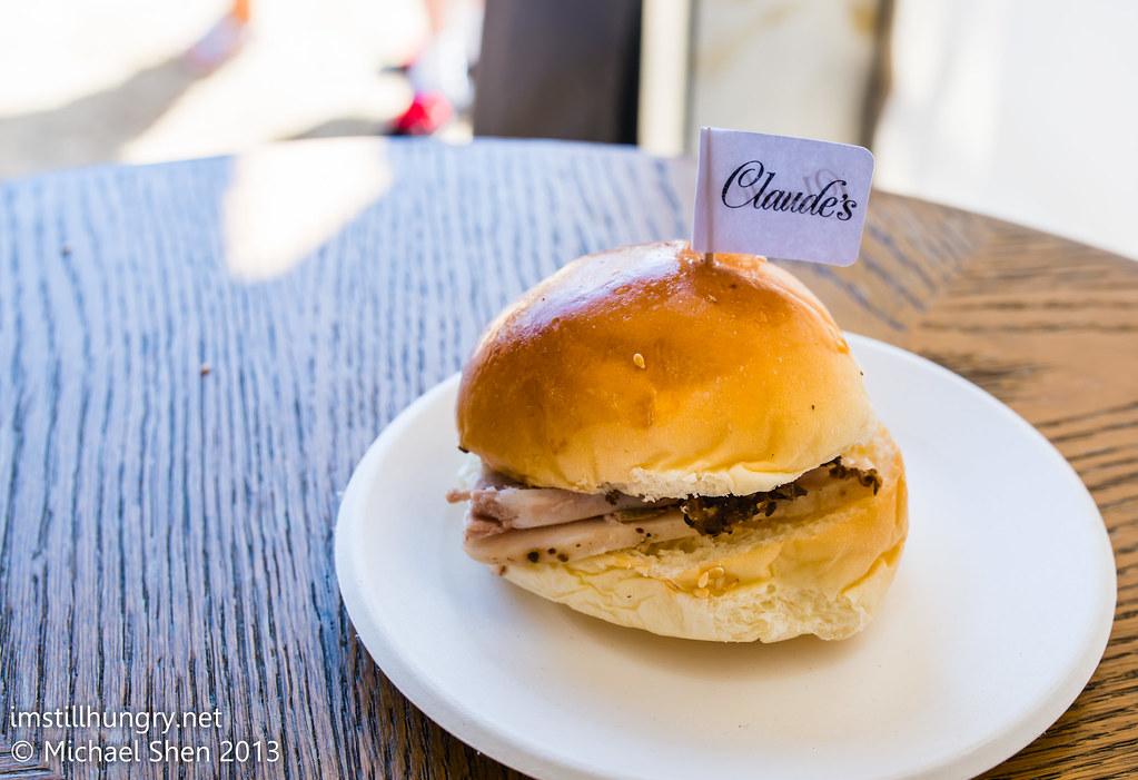 Claude's - Slow Braised Pork Cheek and Black Fungus Relish Roll