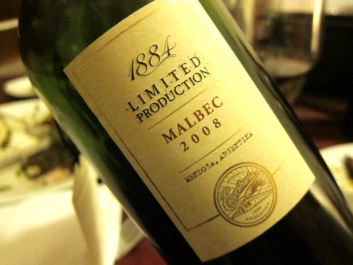 Escorihuela Limited Edition Malbec 2008