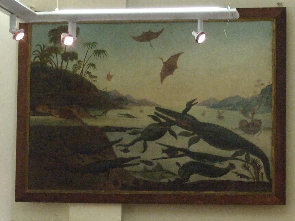 Henry Thomas De la Beche, Life in the Jurassic Sea