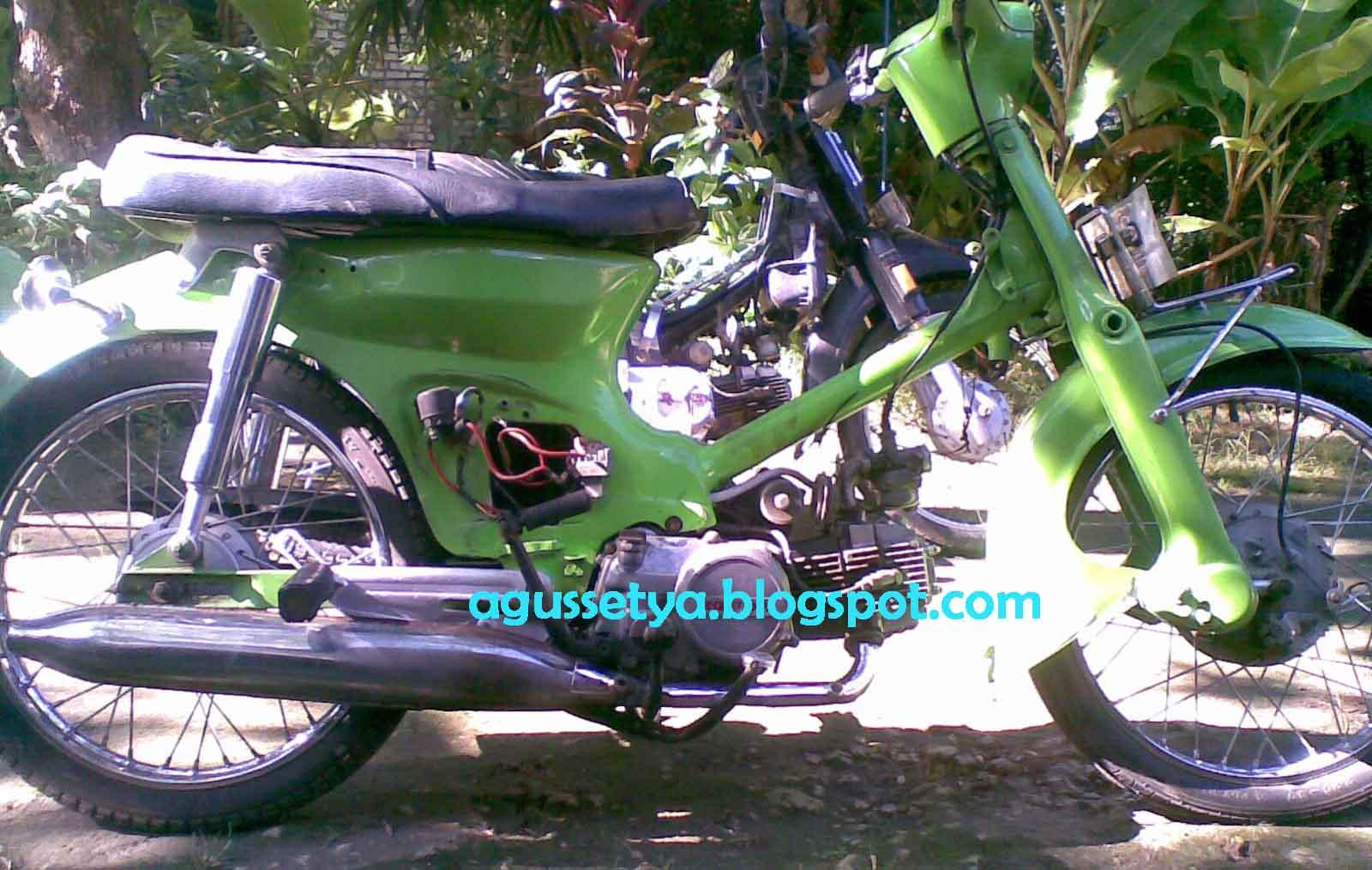 Honda C70 Kalong Opname Blognya Agus Setya Fakhruddin