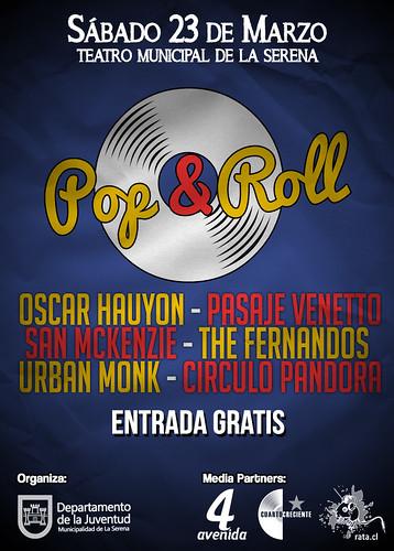 FESTIVAL POP & ROLL - Teatro Municipal de La Serena by Oscar Hauyon