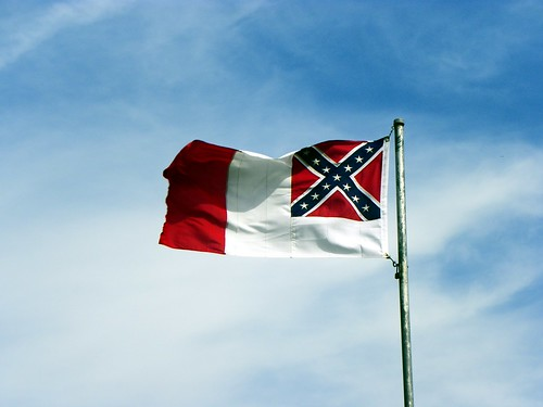 Third Confederate National Flag - The Blood Stained Banner ...