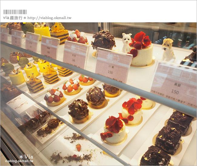 【台中咖啡廳】台中甜點推薦~小梗甜點咖啡!超好吃的季節&每日限定草莓千層!26