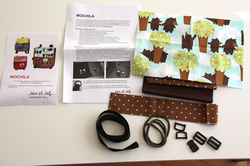kit mochila