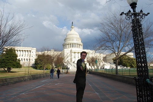 Karl and Frank at the Capitol