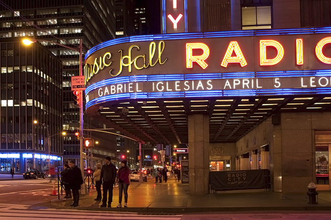 Radio City, nyc