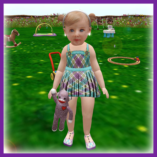 Plaid Dress - 75L for this week by ~ ✫ FLRN BABY'S & FLRN DESIGN ✫ ~