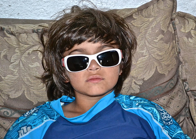 cool kid in sunglasses