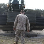 '271 Marines 'break backs' to replace flight line
