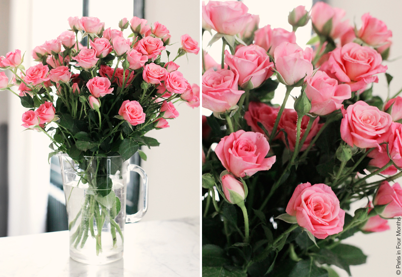 Pink Roses by Carin Olsson (Paris in Four Months)
