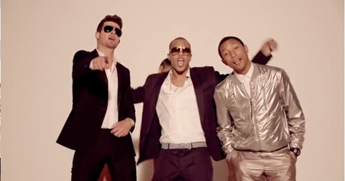 Robin Thicke Ft T.I. & Pharrell Williams – Blurred Lines (Video)