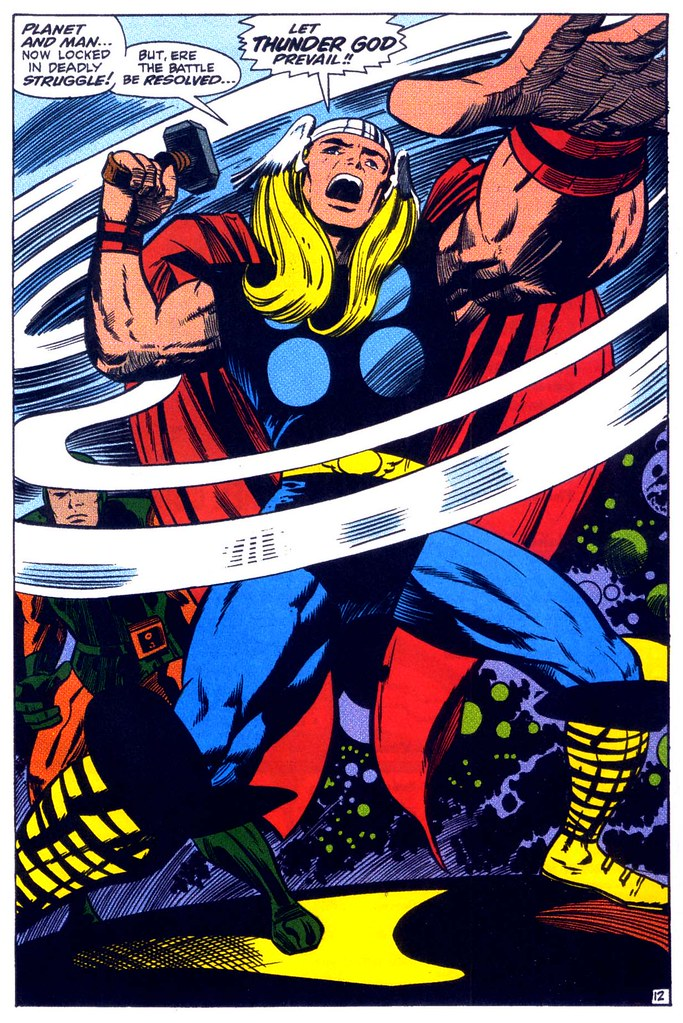 Thor 161 splash page Kirby 1969