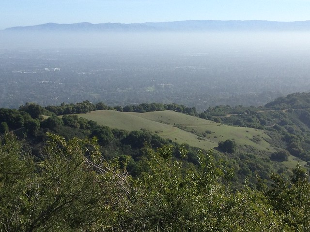 View of the Bay Area - Mountain View and Sunnyvale