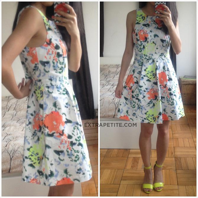 gap floral dress1