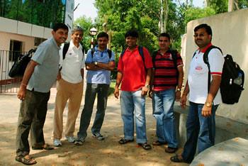 Joy, Apurba, Subhasish, Subhadip, Subherjit & Ashish