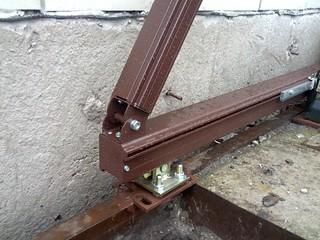 алюминиевая направляющая для ворот