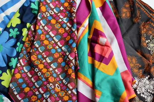 Thrifted Scarves by Jeni Baker