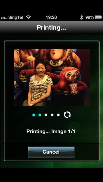 CP900 - EasyPhoto Print App On iOS