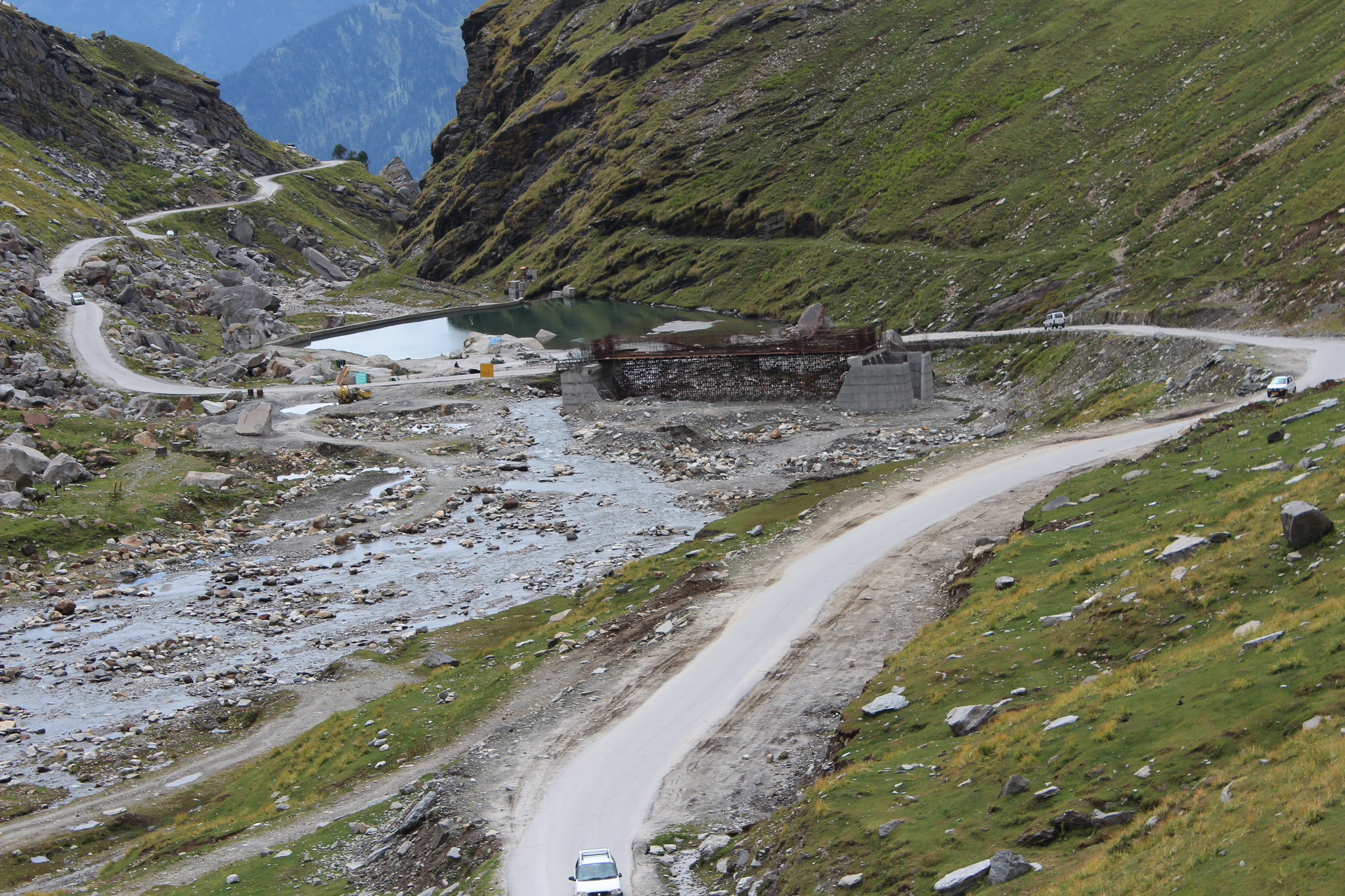 Way to Rohtang La