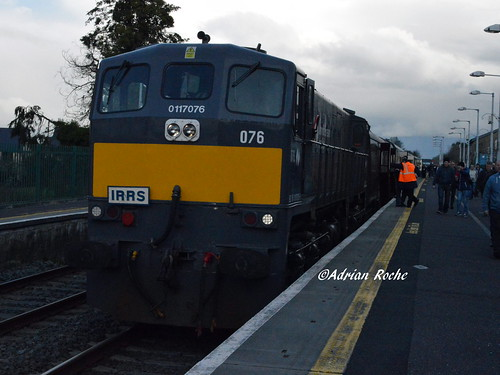 Irish Rail GM 076 In Rathmore With The IRRS Railtour