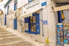 Walking the quiet back streets of the Greek Island, Hydra during off season and while the tour boats are away. #travel #greece #island