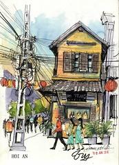 Hoi An Vietnam shop house